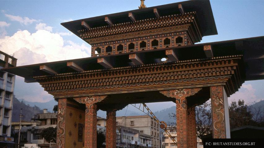 The Bhutan Gate