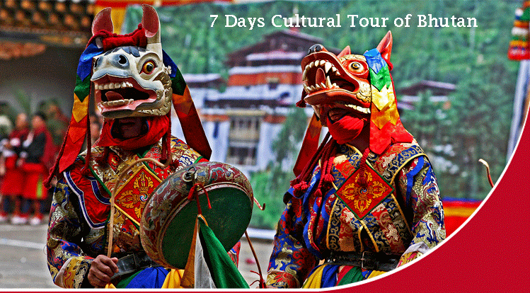7 Days Cultural Tour of Bhutan – 6 Night 7 Days