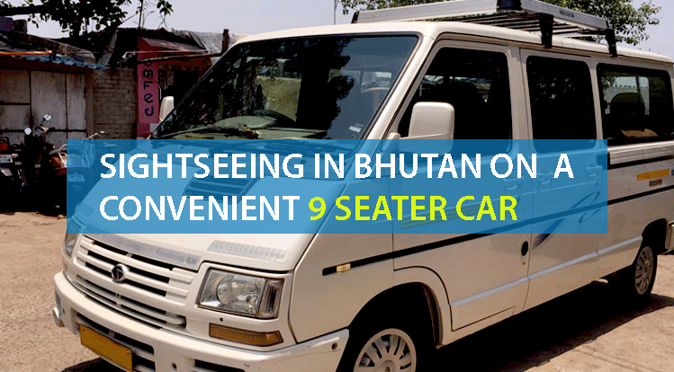 9 Seater car in Bhutan