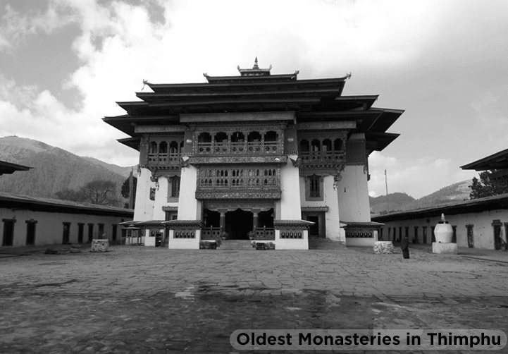 Interesting facts about the oldest monasteries in Thimphu