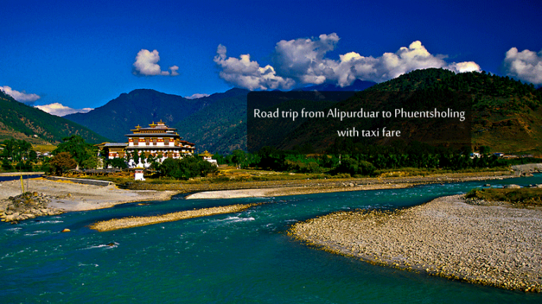 Why should you visit Phuentsholing?