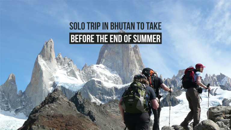 Solo Trip in Bhutan to take before the end of summer
