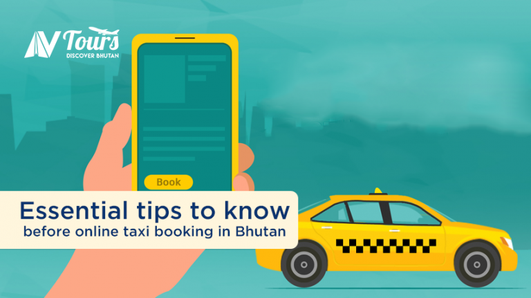 Essential tips to know before online taxi booking in Bhutan