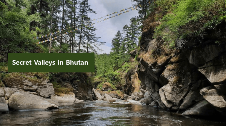 5 secret valleys in bhutan
