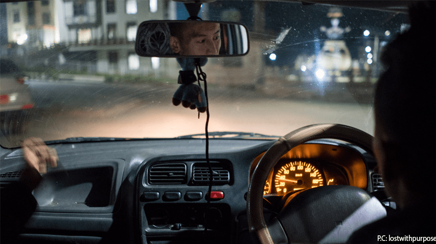 driving in bhutan