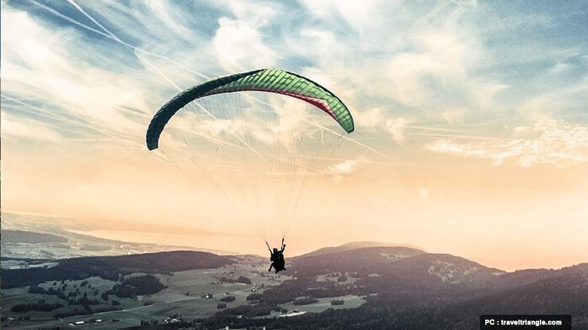 paragliding in bhutan