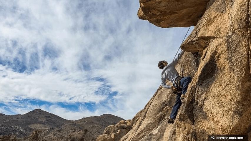 Rock Climbing in Bhutan