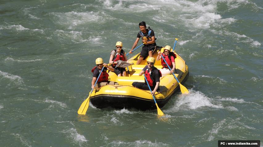 white water rafting bhutan