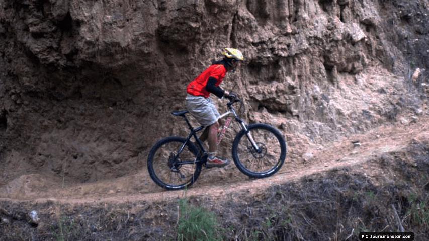 mountain biking Bhutan
