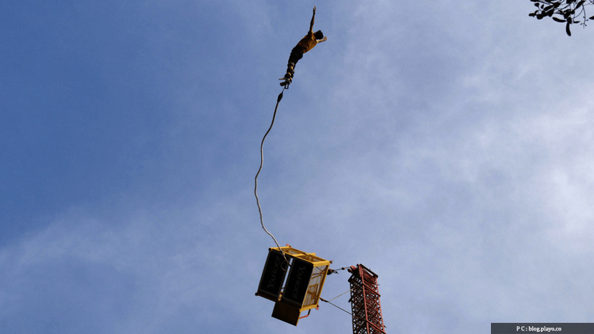 Bungee Jumping at Bangalore