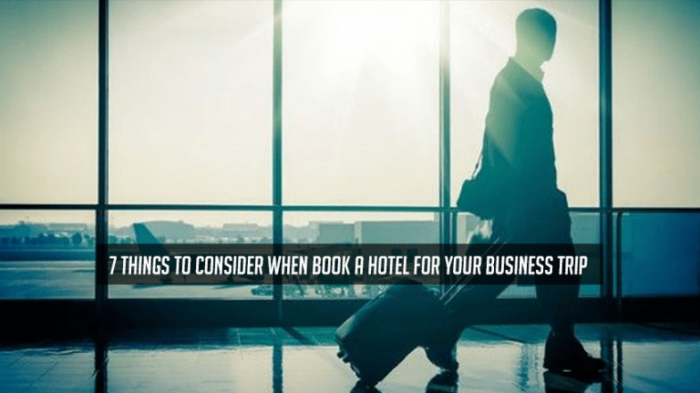 Book a Hotel for Your Business Trip