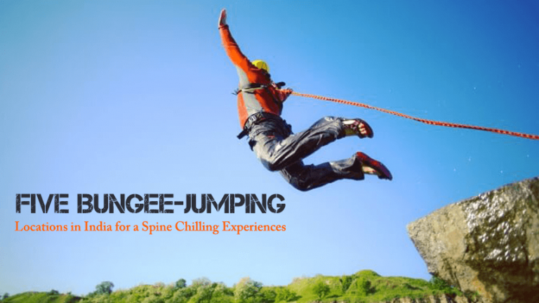 Five Bungee-jumping Locations in India