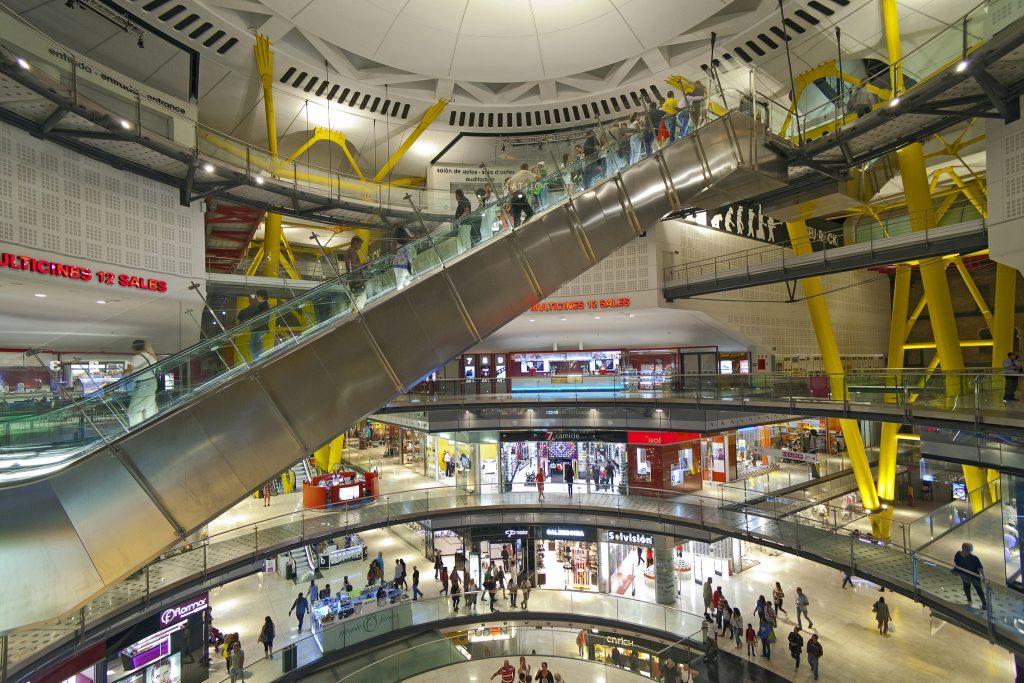 shopping at Barcelona