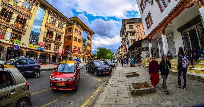 Thimphu city